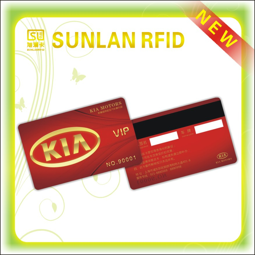 Fast Shipping RFID NFC Smart cards cheap magentic card