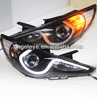 2009-2013 Year for HYUNDAI Sonata YF Sonata I45LED Head Lamp with Bi Xenon Projetor Lens ZJ