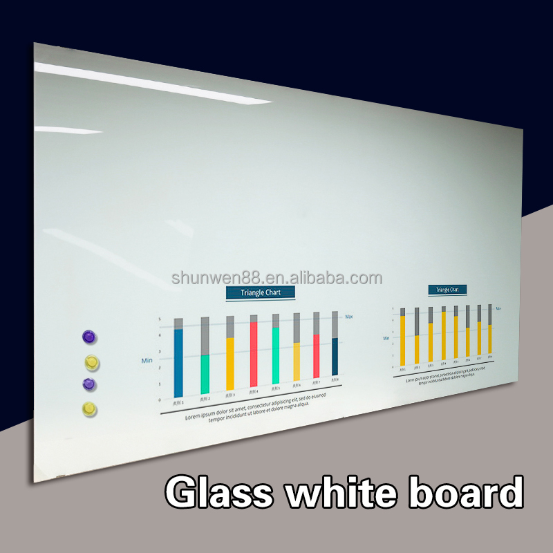 Glass board magnetic Whitboard writing board prices white board for school promotion product