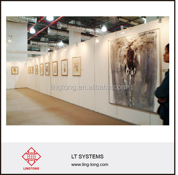 Exhibition Stand Wall Panels : Removable reusable panels wall for booth exhibition view