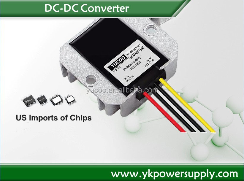 whole sale power supply 24vdc to 12vdc dc dc converter