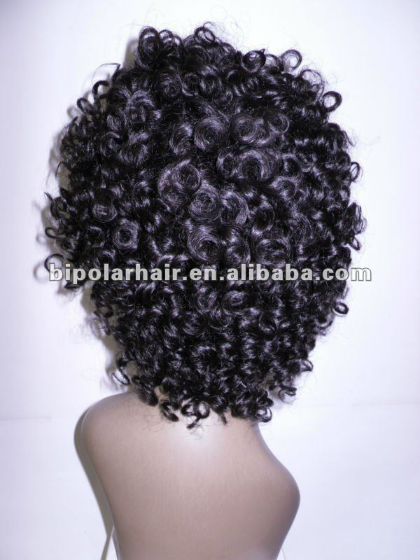 Hotsale Full lace wig 10inch short tight curl for black women