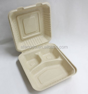 Biodegradable Wheat Straw Fiber disposable bagasse tableware