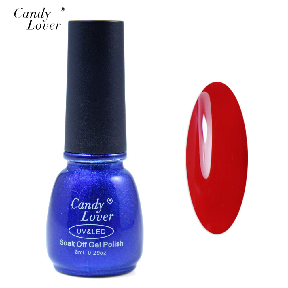 Gel Nail Polish Sale: Candy Lover Gel Nail Polish LED UV Gel Nail Gel 8ml Gel