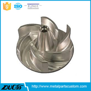 Vertical Turbo centrifugal Brass stainless steel water Pump Impeller price made in China