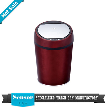 Copper Color Painted Trash Can Manufacturers