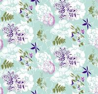 japanese calico fabrics printed cotton floral fabric for dre