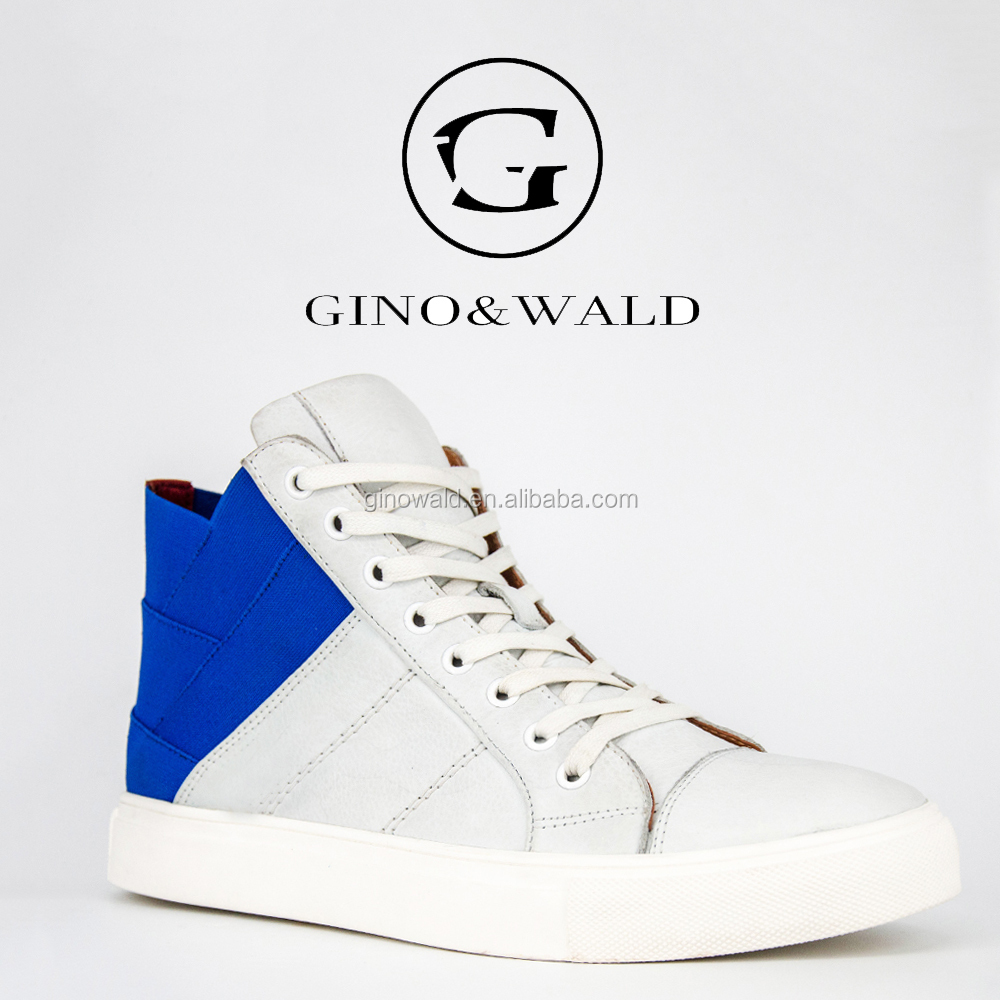 2017 GINO&WALD special design wholesale canvas sneakers for men
