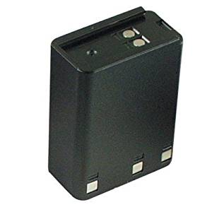 Hitech - 6 Pack of KNB-12A Replacement Batteries for Some Kenwood TK-250, TK-259, TK-350, TK-353, TK-355, TK-359, TK-430, and TK-431 2-Way Radios (Ni-MH, 1900mAh)