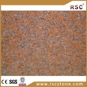 Natural magic polished ilkal red granite