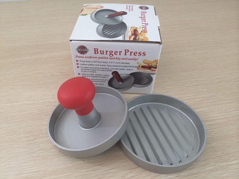 Adjustable Beef Burger Press With Auto Expeller Meat Patty Maker Making Machine