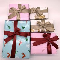 Christmas design Gift Packaging Coated Wrapping Art Paper