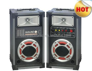 dj sound system for stage performance With USB/SD/FM/ Laser Light COV outdoor speaker
