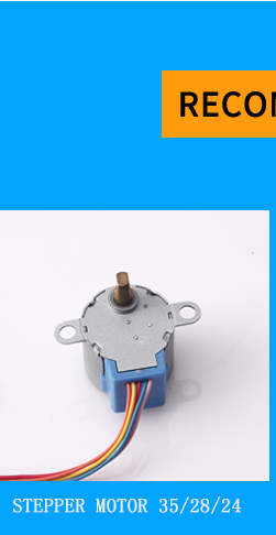 0.9 degree 36mm Hybrid stepping motor for robot