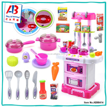Beauty Pretend Play Kitchen Sets Toy Kitchen Travel Suitcase
