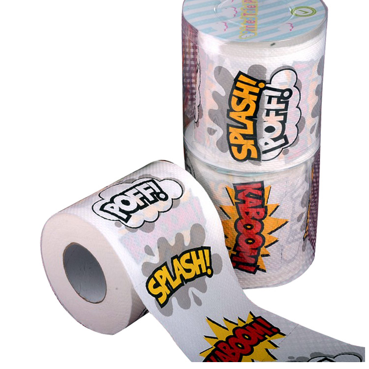 Best Selling 1 5 6 8 10 12 Ply Decorative Colored Toilet Paper
