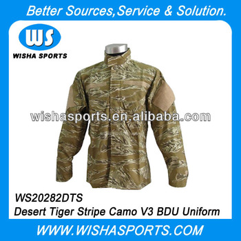 ea4e934e647 Us Army Desert Tiger Stripe Camo V3 Bdu Uniform Set Shirt Pants ...