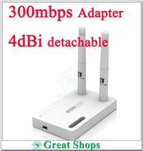 totolink N300ua 300Mbps 300M Wireless USB WiFi  Wi-Fi Adapter usb wifi network card 4dbi External Antenna detachable