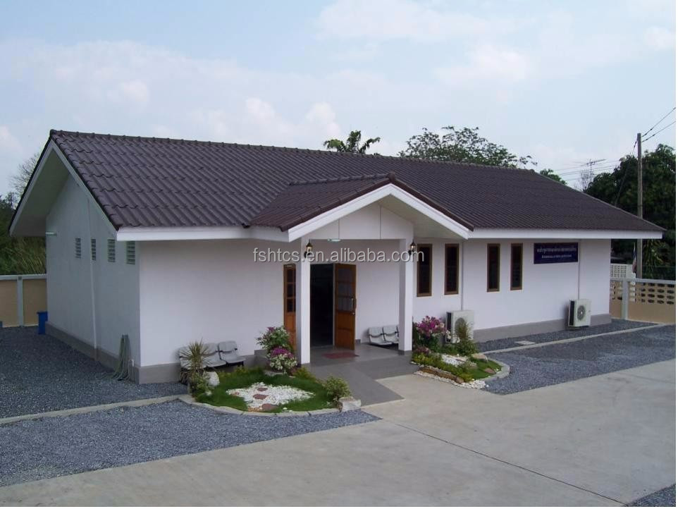 China Prefabricated Homes Modern Design Prefab Bungalow