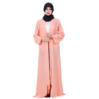 Zakiyyah Z180505 Fashion 2018 latest new model islamic clothing dubai open abaya in China for ladies