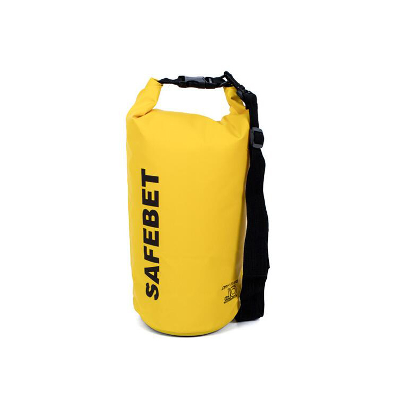 Custom Lightweight Waterproof Dry Bag With Comfortable Padded Shoulder Straps