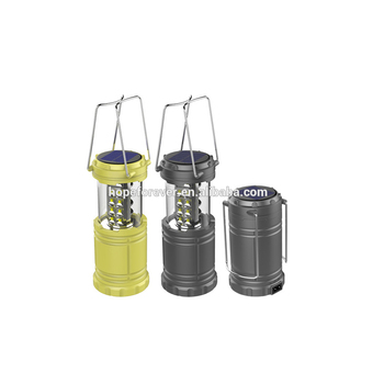 Solar Light Ed Lantern Rechargeable Led Flashlight Torch With Battery And Panels