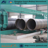 Contruction Materials DIN EN API 5L SSAW HSAW High Strength Spiral Welded Steel Pipe