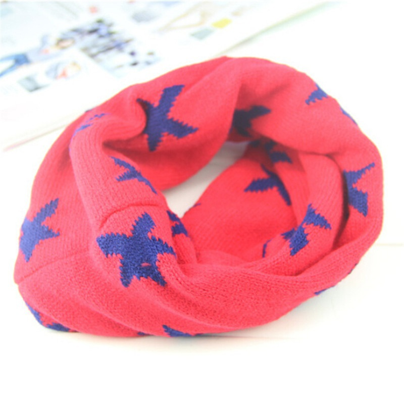 3b2ba742aed01 Buy 2015 New children collar baby scarf five star boys girls Kids O ring  child neck scarves for keep warm in autumn winter Hot sale in Cheap Price  on ...