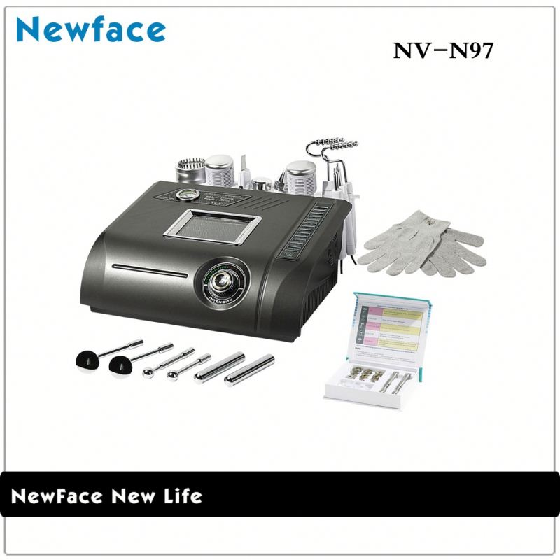 NV-N97 skin scrubber ultrasound galvaniccolor photon ultrasonic beautiful skin instrument7 in 21 microdermabrasion