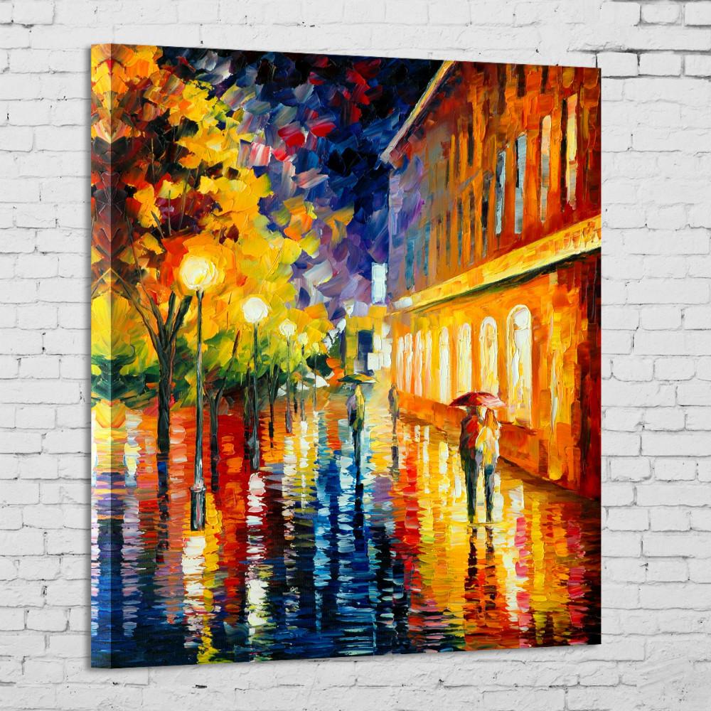 toile peinture moderne
