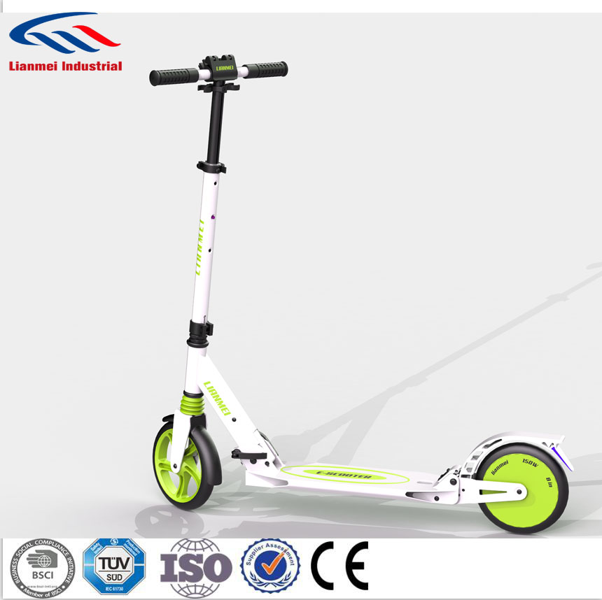 Smart 2-wheel electric scooter light standing roller skates board