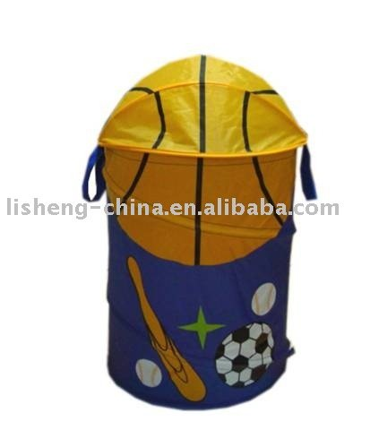 Pop-up Hamper. Basketball
