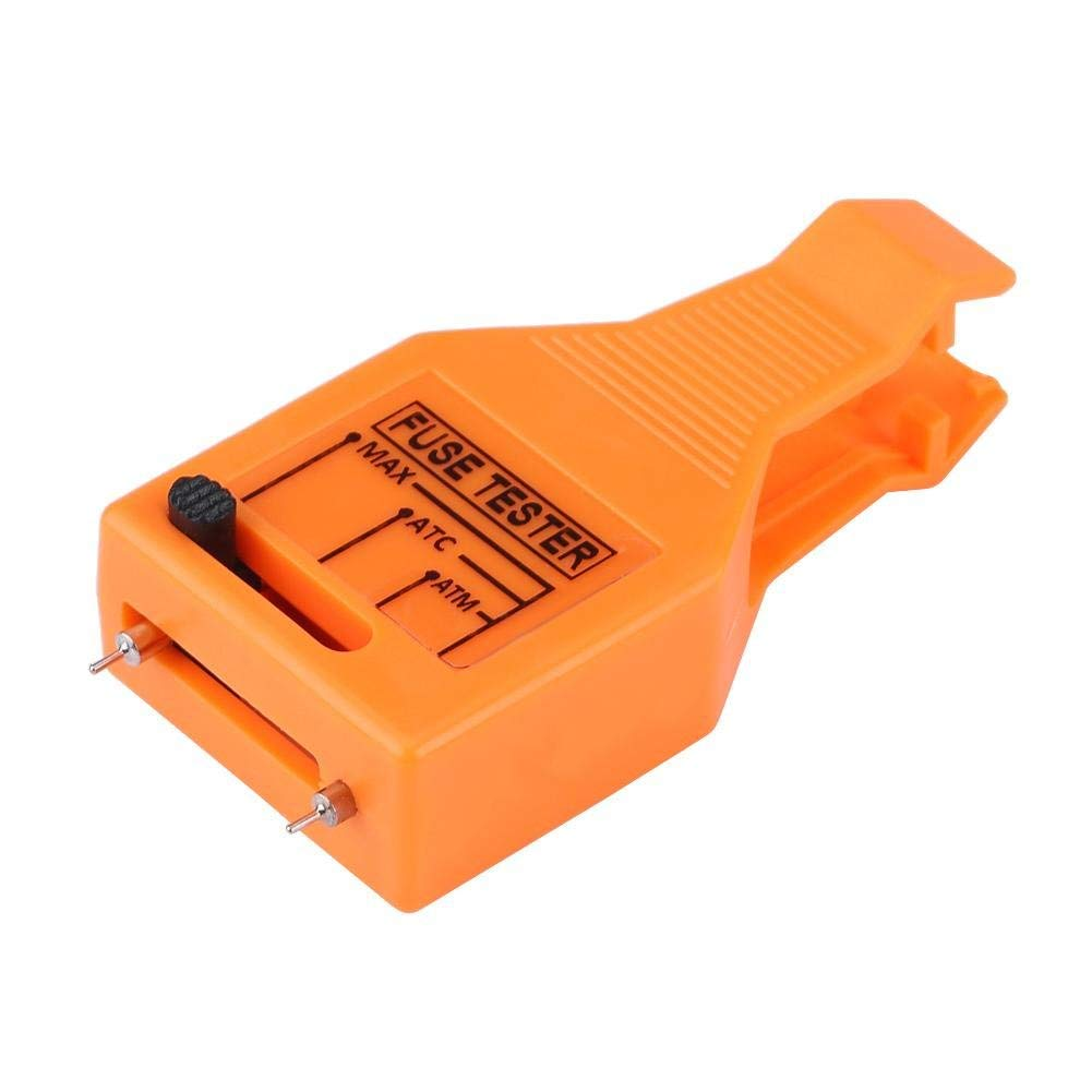 Automotive Blade Fuse Puller, Keenso Multi-functional Car Blade Fuse Checker Tester Removal Tool for Mini/Standard Blade Fuse