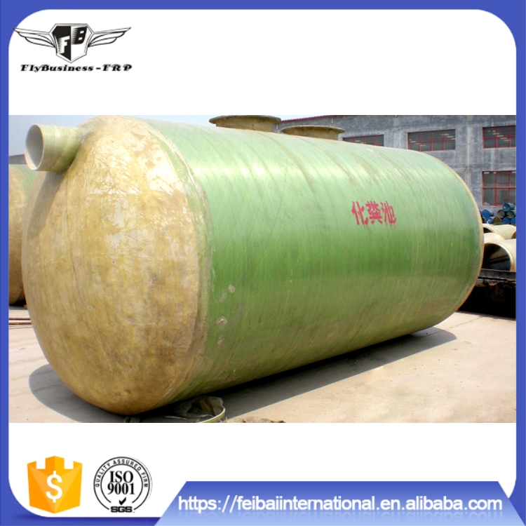 Factory supply occupies less space biogas septic tank