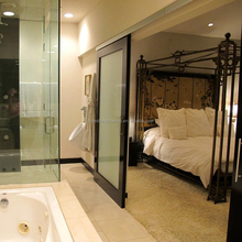 Marriott Hotel Sliding Barn Door, Sliding Door with Soft Close Barn Door Hardware