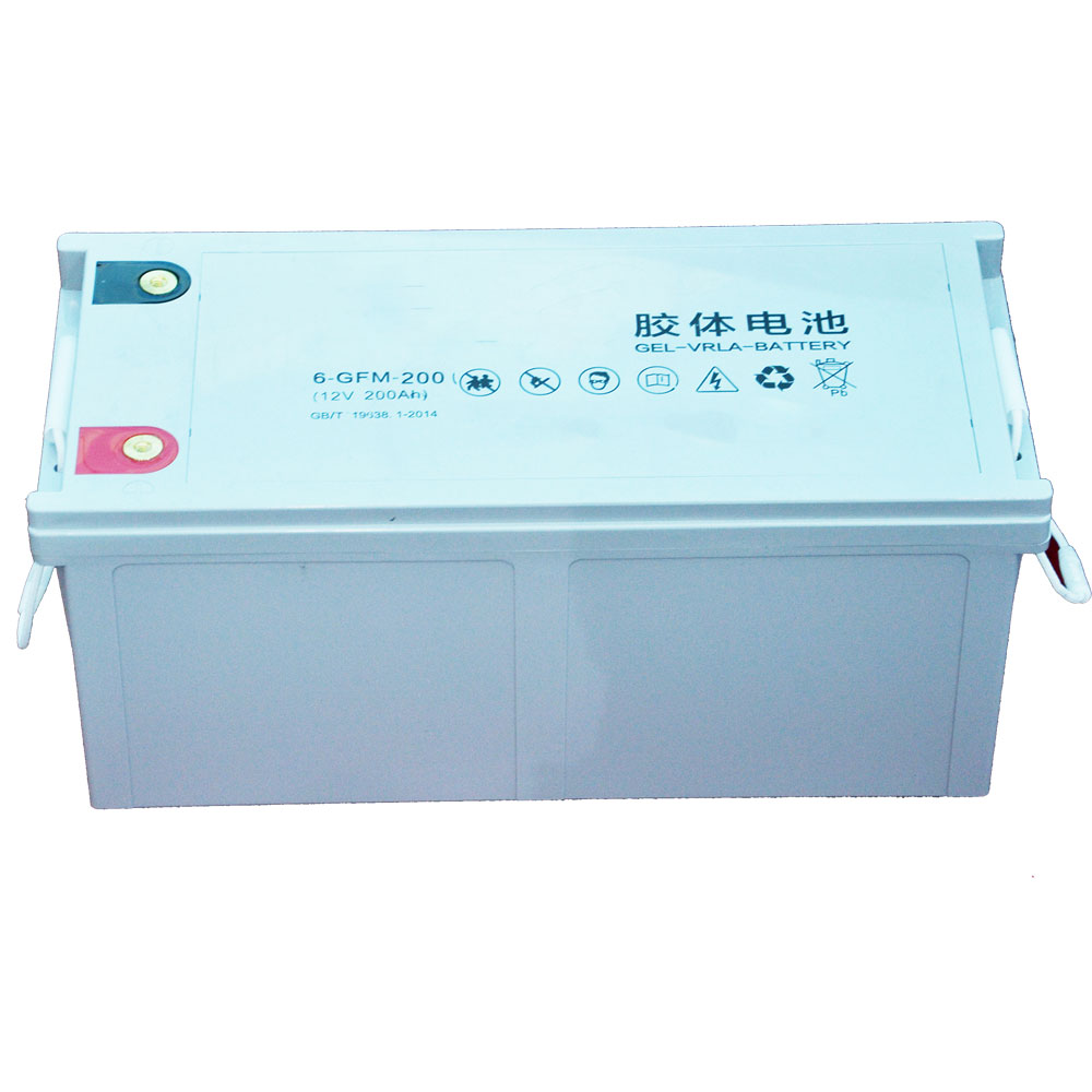 deep cycle gel solar battery 12v 200ah of lead acid battery price