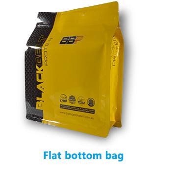 Custom design Kraft paper Stand up plastic coffee bag 500g