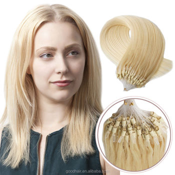 sexy image blonde micro ring hair extension for white women buy real human  hair extension drop d3f4926d2