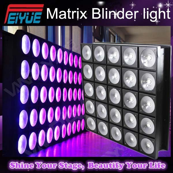 Special unique Nightclub light Golden 5x5 30W LED Beam Matrix Blinder light,led matrix/rgb matrix beam