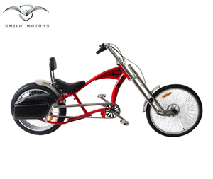 "factory price 26"" adult chopper bicycle beach cruiser bike available with rear box for sale"