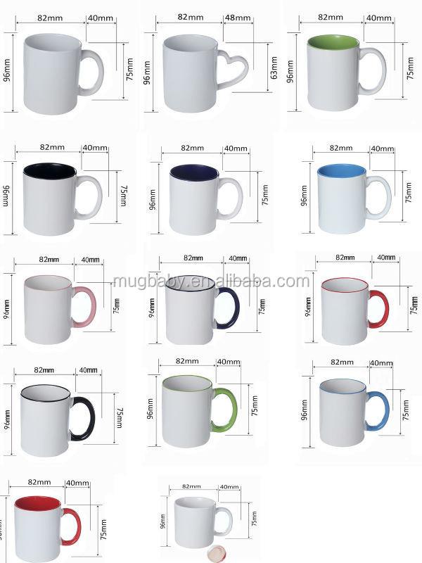 2016 Innovative Products Blank Sublimation Mug For
