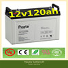 Neata Battery 24v 6ah long energy high quality 12v120ah battery black sealed lead acid ups storage battery