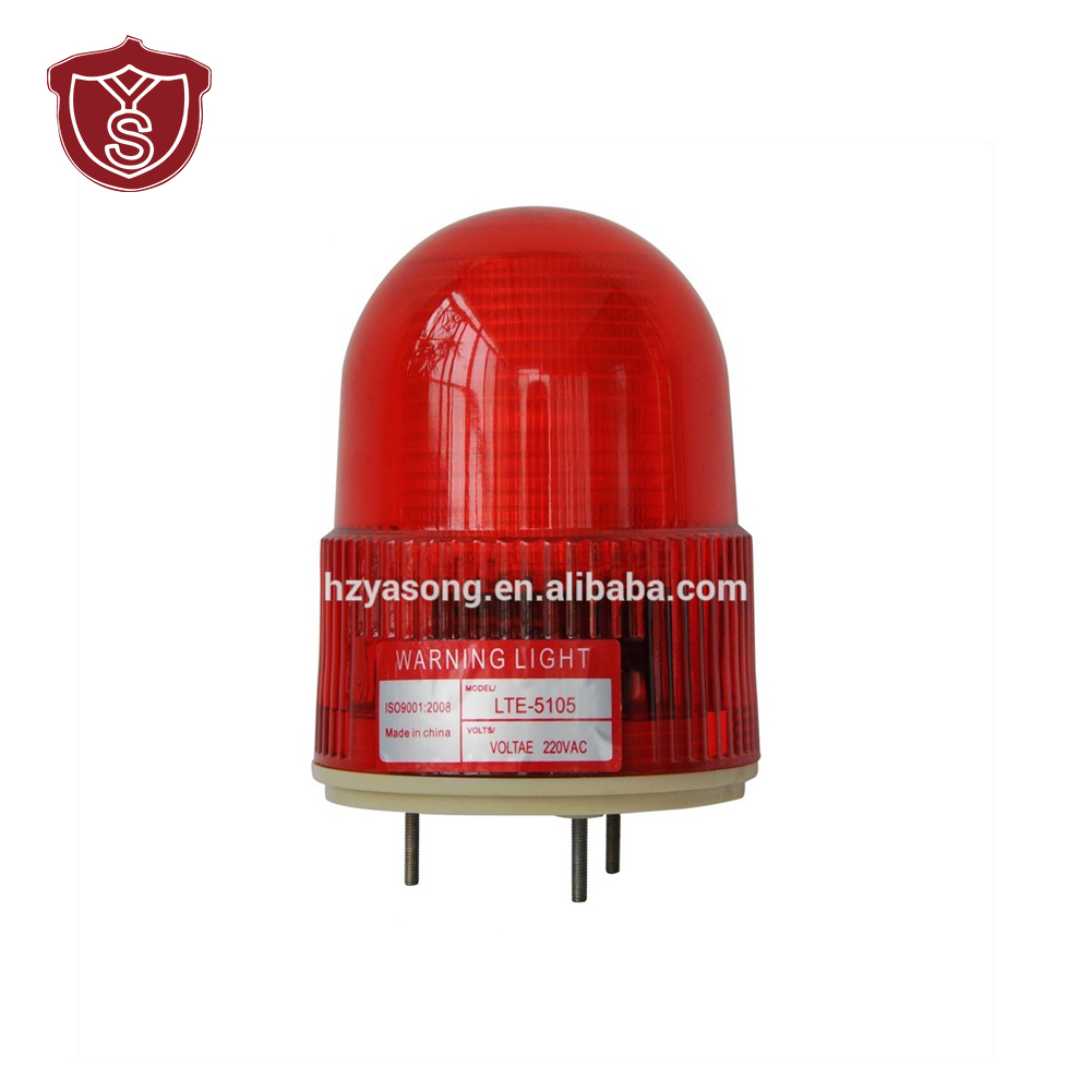 LTE-5105 industrial flash LED de luz de advertencia de emergencia