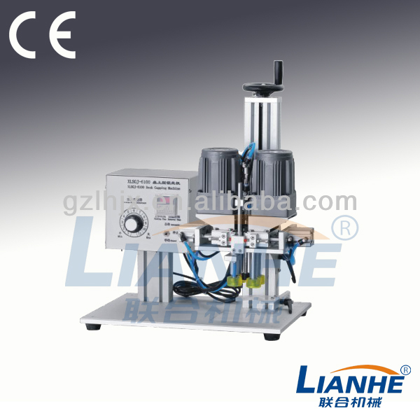 LH-table screw capping machine,manual beer bottle capping machine