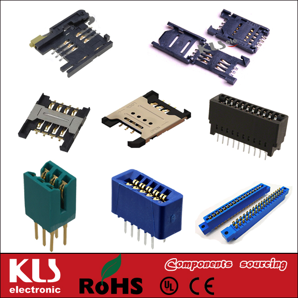 Good quality pcmcia connector short UL CE ROHS KLS brand 371