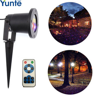 outdoor christmas rgb rotating laser lights bedroom and