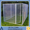 2015dogs use steel welded door dog kennels cages/black dog kennel/pet cages