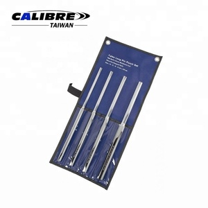 CALIBRE 4PC 10-16mm Extra Long 350mm Parallel Pin Punch Set Drift Punch Set Pin Removing Punch Set