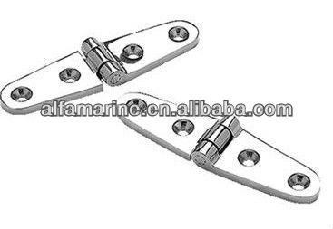 Investment Cast 316 stainless steel Strap Hinges