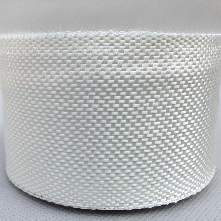 Woven fiber glass tape high temperature fiberglass tape